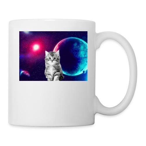 Cute cat in space - Muki