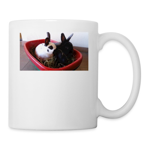 Warme Sachen mit dem Hasenlogo - Tasse