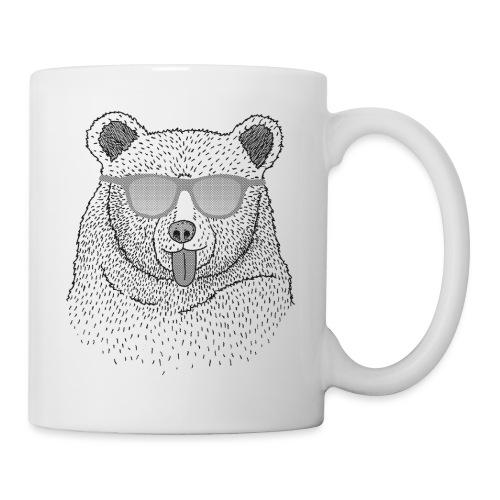 BABO blue Bär (grau) - Tasse