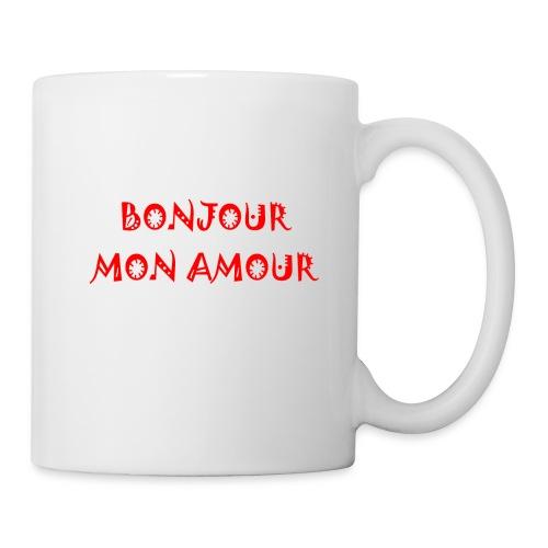 Bonjour mon amour - Mug blanc