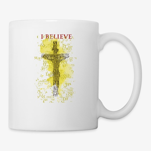 I believe / wierzę (yellow-żółty) - Kubek