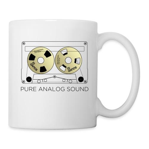 Reel gold cassette white - Mug
