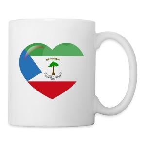 Mi corazón es de Guinea Ecuatorial - Taza
