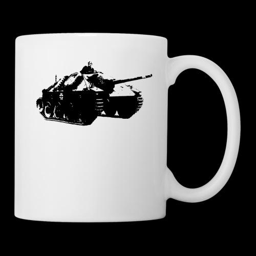 gehetzter Panzer - Tasse
