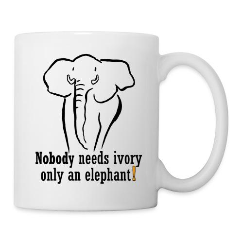 Nobody needs ivory, only an elephant - Tasse