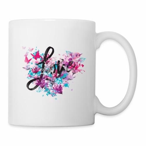 Love with Heart - Mug
