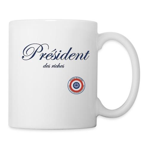 Président des riches - Mug blanc