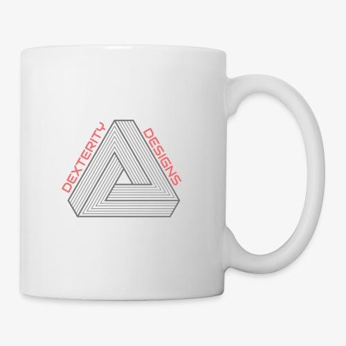 Modern Triangular Dexterity Logo - Mug