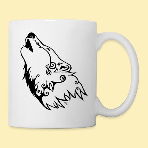 Le Loup de Neved (version traits) - Mug blanc
