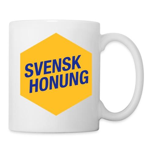 Svensk honung Hexagon Gul/Blå - Mugg