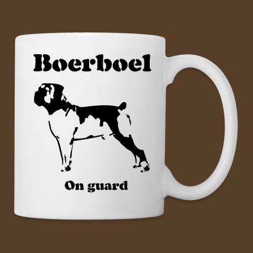 Boerboel on Guard - Tasse