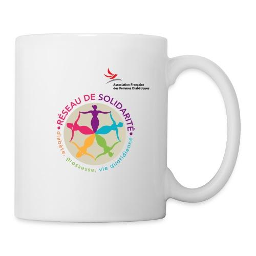 affd visuel identitaire avec logo - Mug blanc