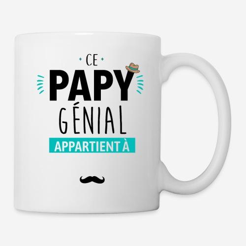 Ce papy genial ( à personnaliser ) - Mug blanc