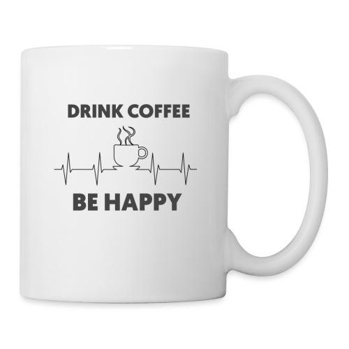 Kaffe Tasse mit Spruch - Tasse