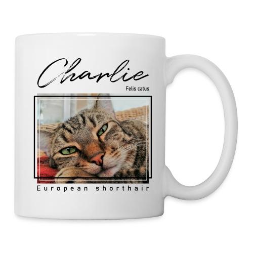 Charlie - Felis catus - Tasse