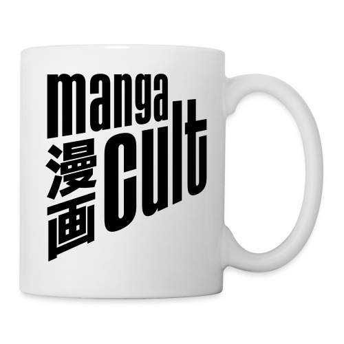 Manga Cult Logo Schwarz - Tasse