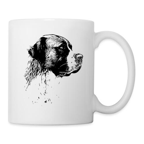 Bernhardiner Hunde Design Geschenkidee - Tasse