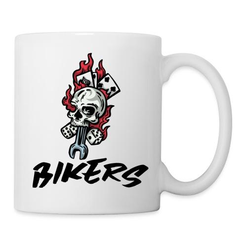bikers 66 - Mug blanc