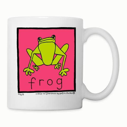 frog 90's Bang On The Door - Mug