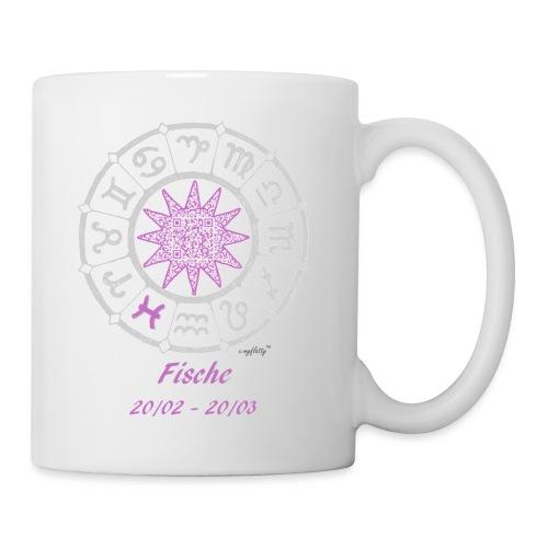 fische_tages_horoskop_qr_ - Tasse
