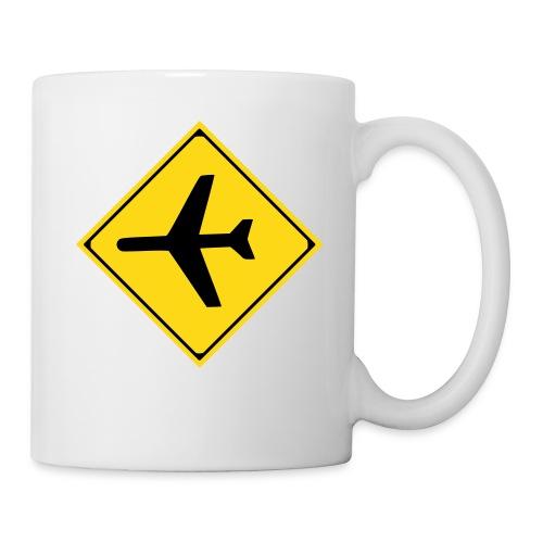 Airplane Sign - Mug