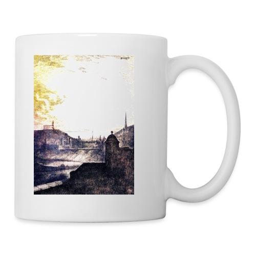 Golden Sunshine over Edinburgh Castle - Mug