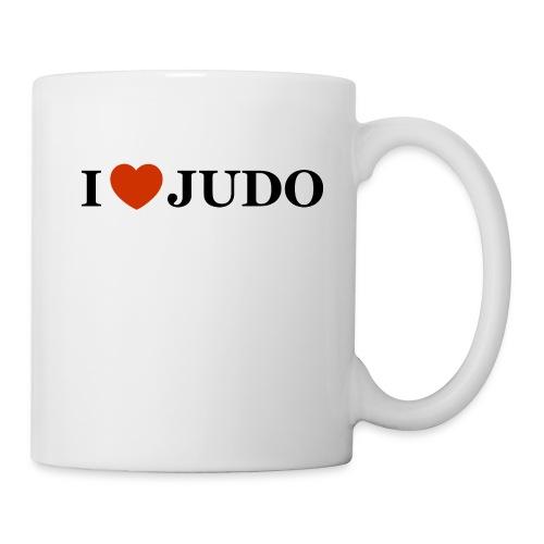 I love judo jpg - Tazza