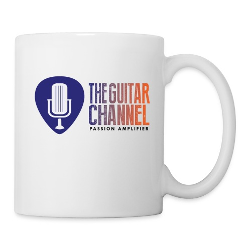 Logo EN bleu orange png - Mug blanc