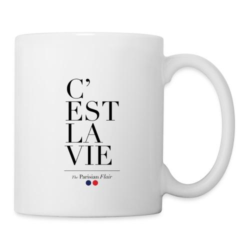 C EST LA VIE 01 png - Mug blanc