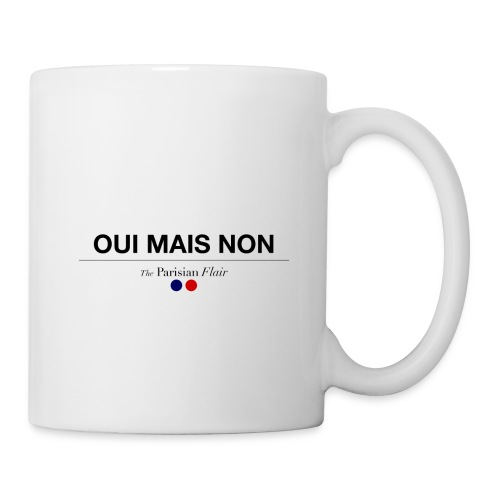 OUI MAIS NON - Mug blanc