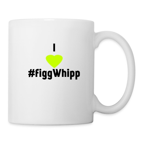 I heart figgwhipp black - Mugg