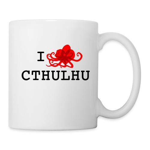 ilovecxthulhu png - Mug blanc
