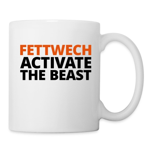 Fettwech Active the Beast - Tasse
