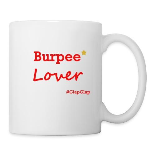 Burpee Lover mit Stern - Tasse