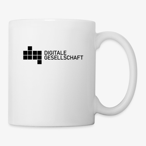 DG Logo Schrift - Tasse