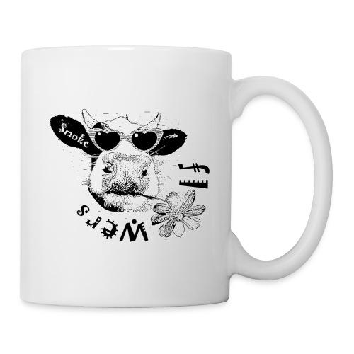 Smoke Flowers 5 jpg - Mug blanc