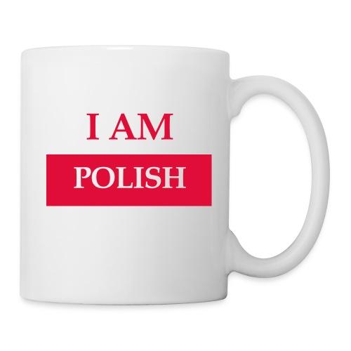 I am polish - Kubek