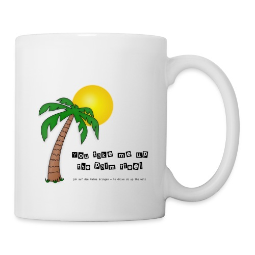 palm tree definition - Tasse