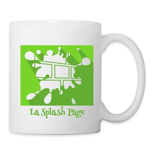 Splash Page full - Mug blanc
