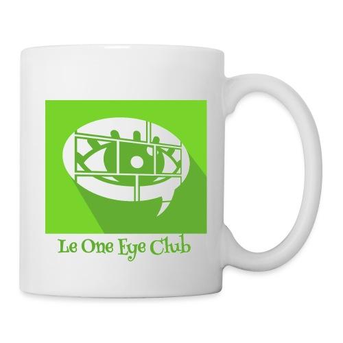 One Eye Club Full - Mug blanc