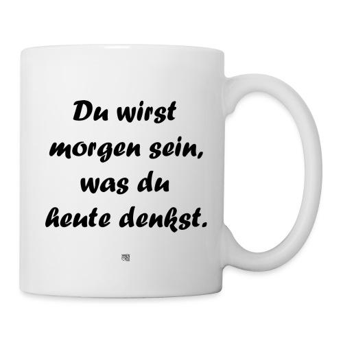 F_DuWirstMorgenSein_1x1_L - Tasse
