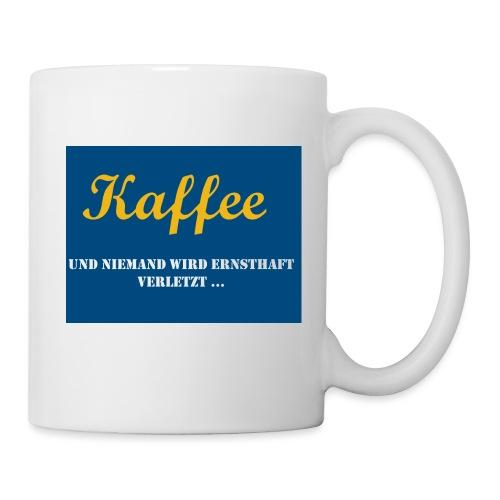Kaffee und niemand wird v - Tasse