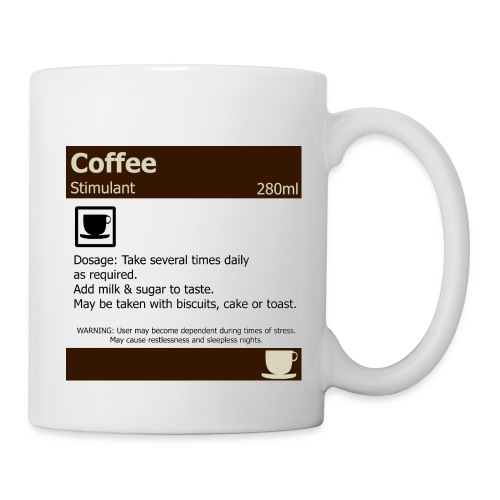 coffee medicine design - Mug