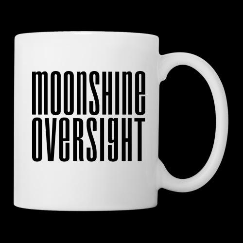 Moonshine Oversight noir - Mug blanc