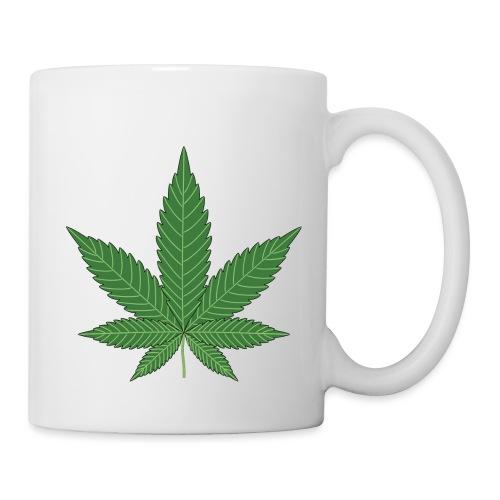 cannabisblatt - Tasse