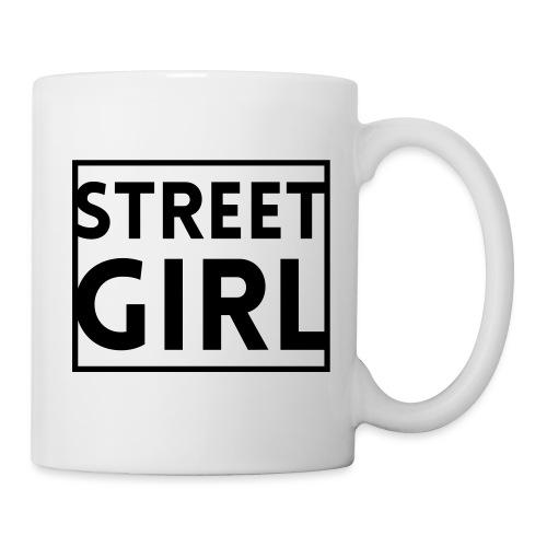 girl - Mug blanc