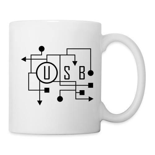 USB - Mug blanc