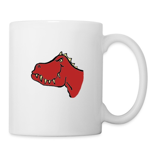 T Rex, Red Dragon - Mug