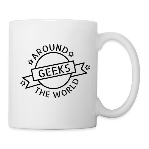 Geeks around the world - Mug blanc