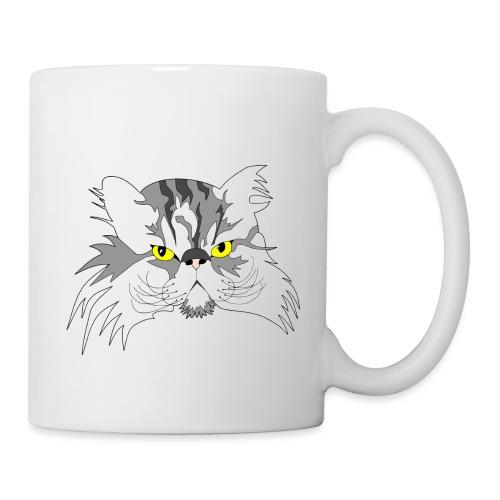 Katze - Chuck Norris - Theophil-Nerd - Tasse